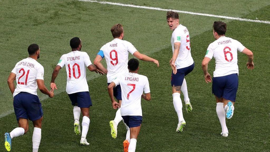 Inggris Lolos ke 16 Besar Piala Dunia 2018, Belgia Ikut