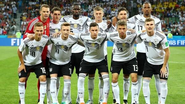 Jerman Melawan Kutukan Juara Bertahan