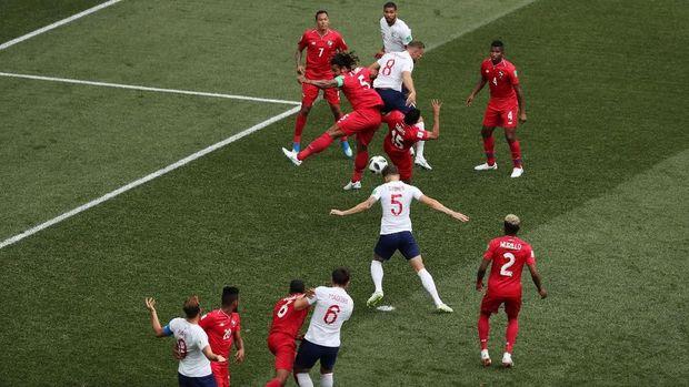Skema bola mati menjadi andalan timnas Inggris di Piala Dunia 2018.
