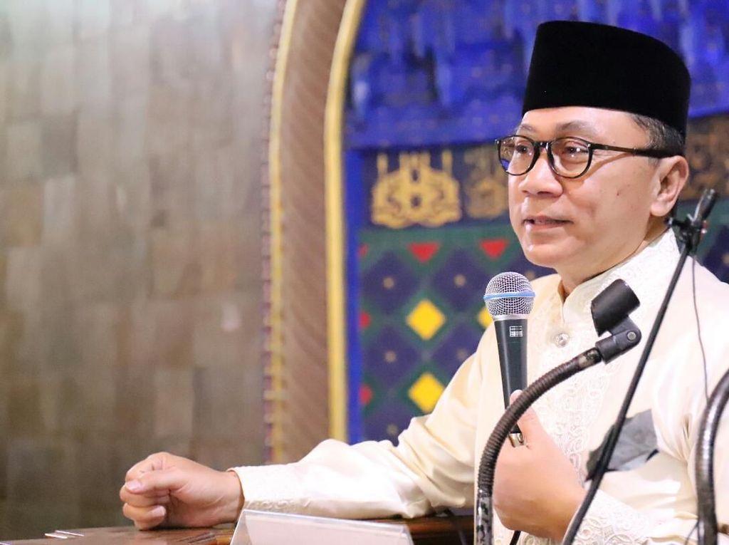 Zulkifli Hasan Tanya soal Presiden, Massa Munajat 212 Jawab Nomor Dua