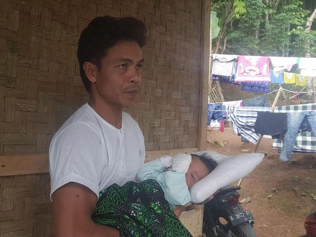 Pilu Warga Banten Kehilangan Istri yang Melahirkan di Malam Lebaran