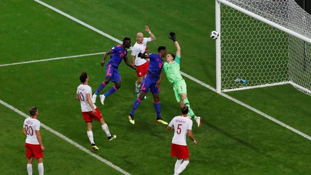 Video Highlights Babak I Polandia V Kolombia