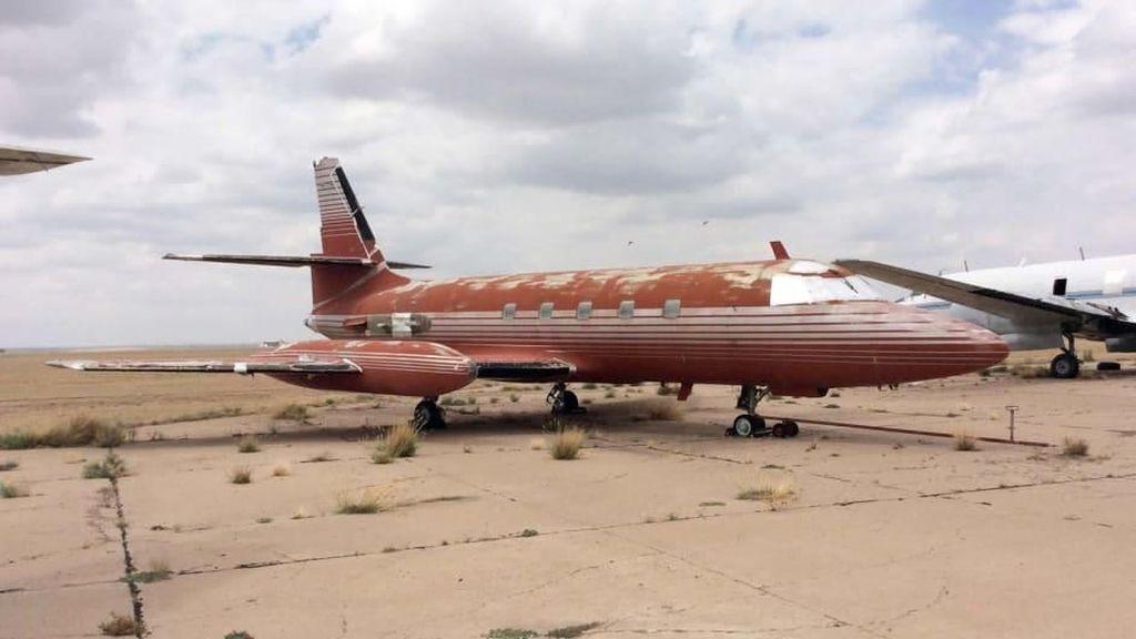 Foto: Jet Usang Elvis Presley yang Dilelang Kembali