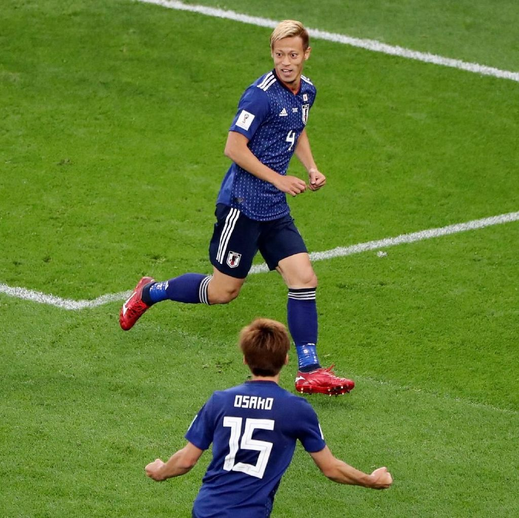 Torehan Sejarah Keisuke Honda