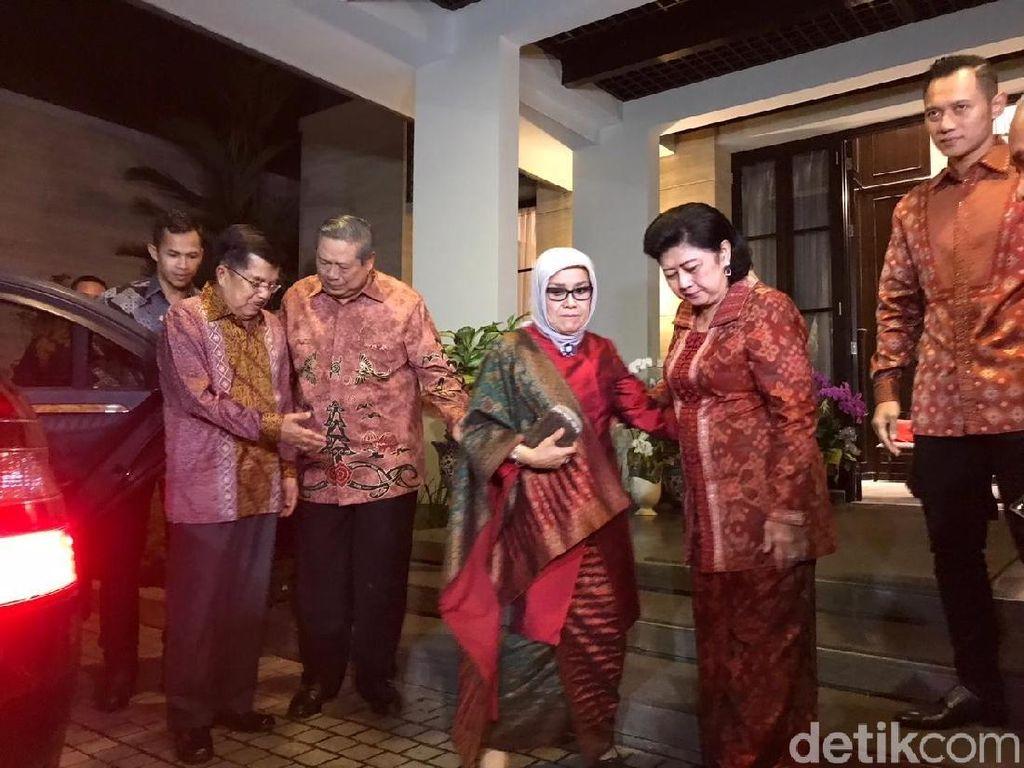 JK Silaturahmi ke Rumah SBY di Kuningan