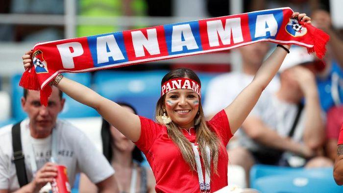 Fans Panama di Piala Dunia 2018 (Foto: Matthew Childs/Reuters)