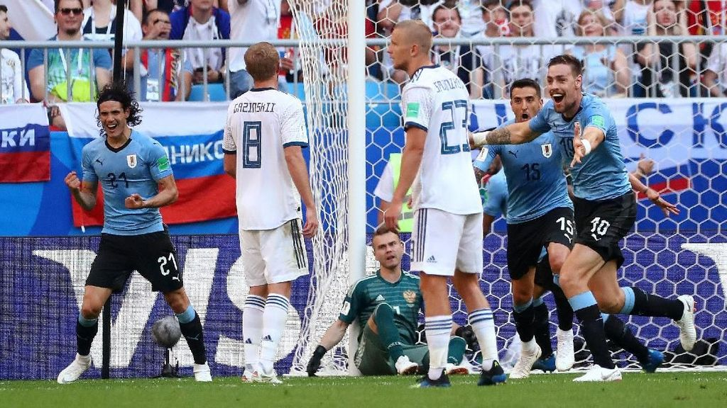 Video Highlights Babak I Uruguay VS Rusia