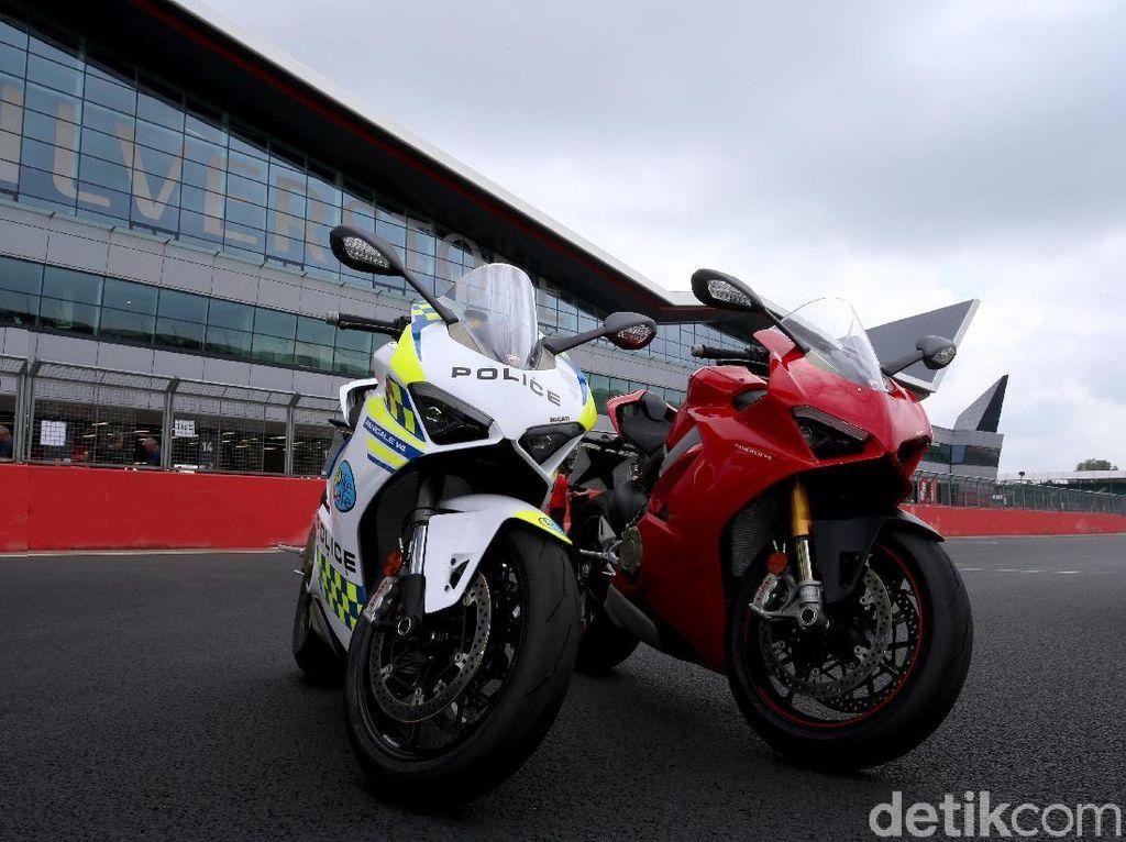 Ducati Panigale V4 Jadi Motor Polisi