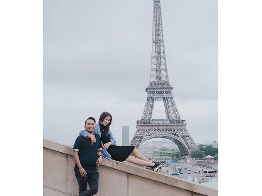 Foto: Intip Liburannya Ruben Onsu Sekeluarga di Prancis