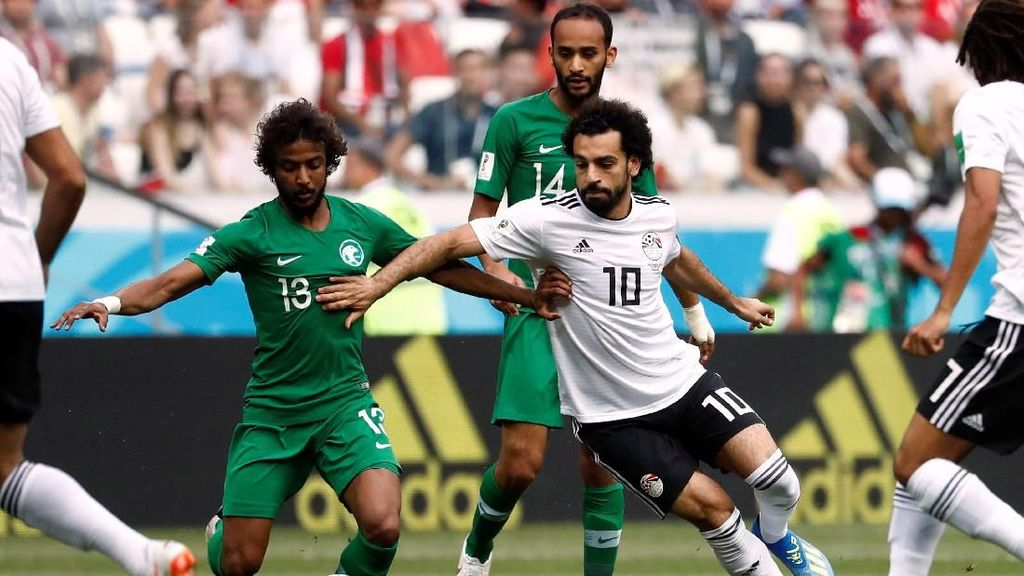 Video Highlights: Arab Saudi VS Mesir 2-1