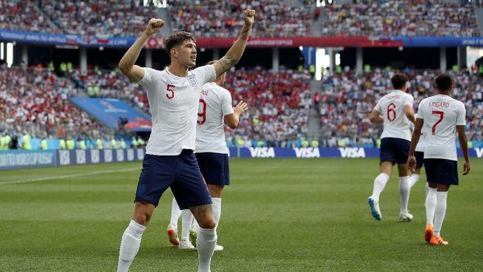 John Stones mencetak dua gol saat Inggris menang 6-1 atas Panama di Piala Dunia 2018 (Foto: Clive Brunskill/Getty Images)