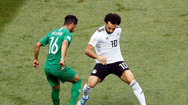 Karena cedera bahu Mohamed Salah hanya tampil dua kali di Piala Dunia 2018.
