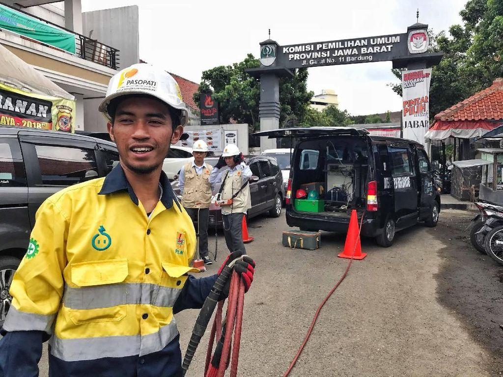 PLN Siaga Pasokan Listrik Jelang Pilkada Jawa Barat