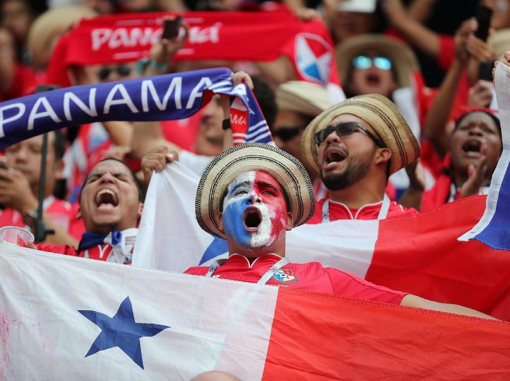 Dibantai Inggris, Panama Tetap Ceria