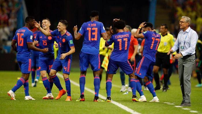 Kolombia kalahkan Polandia 3-0 di matchday 2 Grup H Piala Dunia 2018 (Foto: Julian Finney/Getty Images)