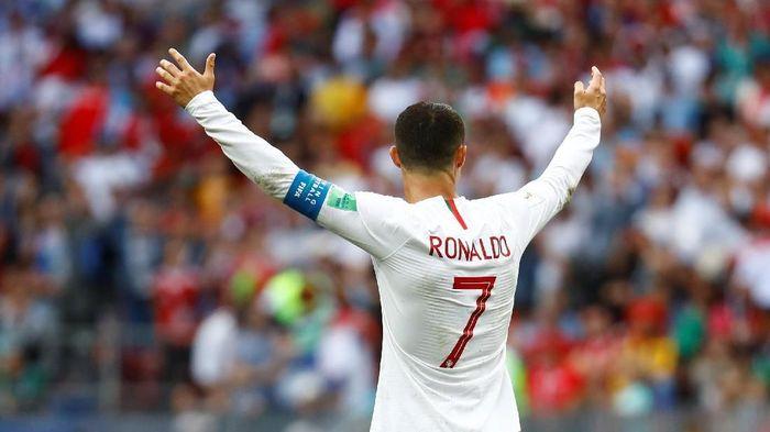 Pemain Juventus, Cristiano Ronaldo. Foto: Kai Pfaffenbach/Reuters