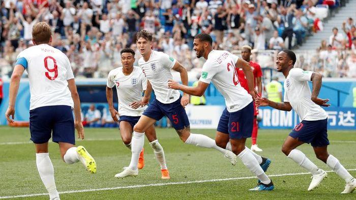 Inggris memastikan lolos dari fase grup usai menghantam Panama 6-1. (Foto: REUTERS/Matthew Childs)