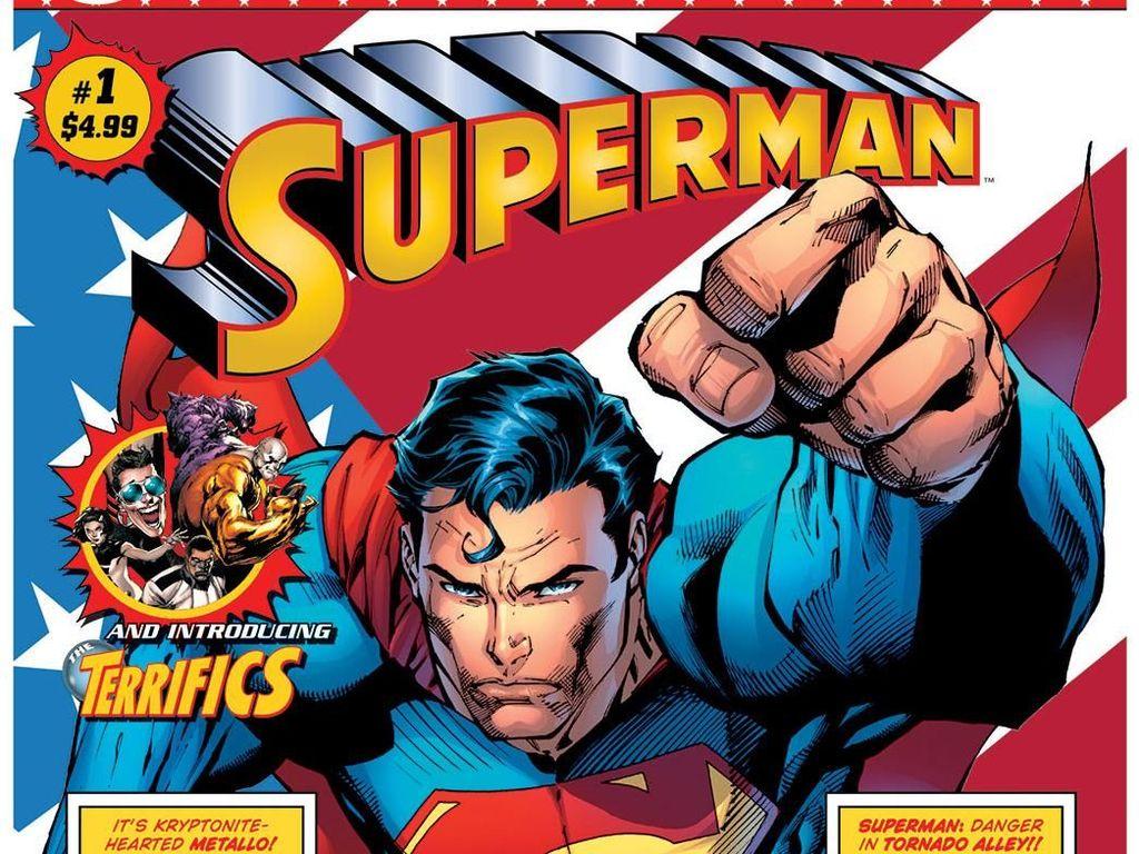 DC Comics Luncurkan Edisi Eksklusif Komik Superman hingga Justice League