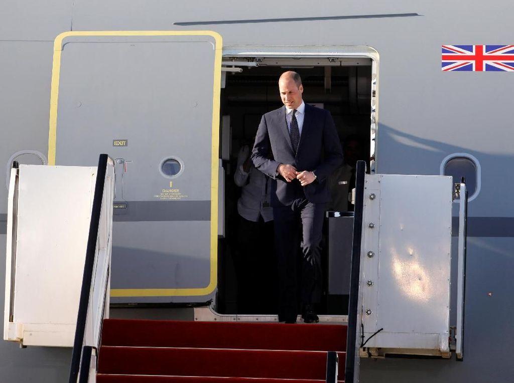 Momen Kunjungan Bersejarah Pangeran William di Israel dan Yordania