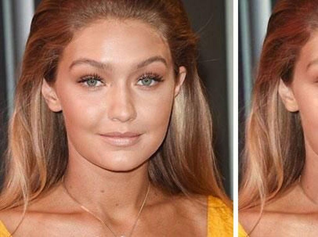 Begini Jadinya Jika Make Up 10 Selebriti Hollywood Dihapus