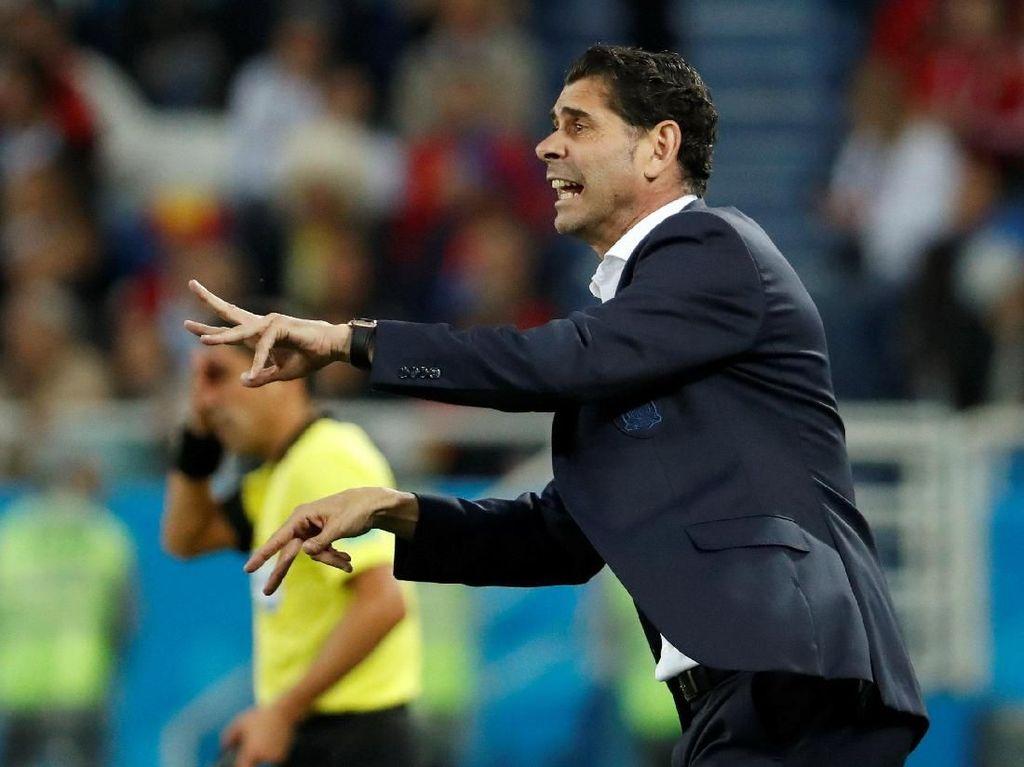 Hierro Akui Spanyol Beruntung Jadi Juara Grup