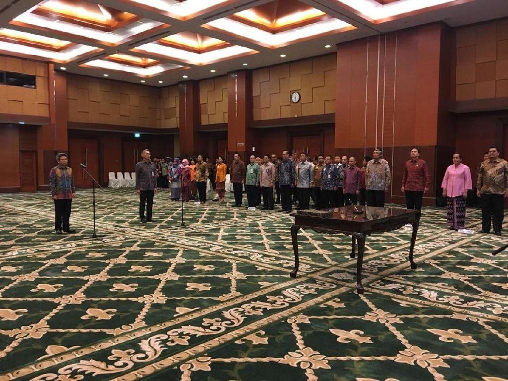 Sri Mulyani Lantik Dua Pejabat Eselon I Kemenkeu