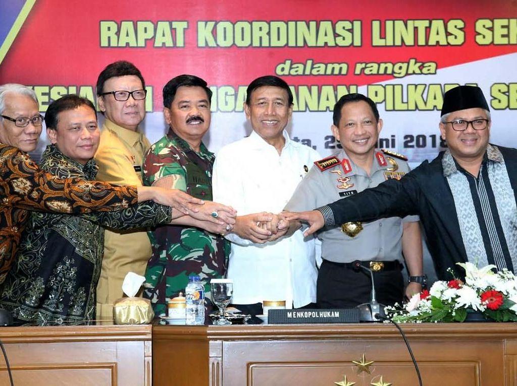 TNI Siap Amankan Pilkada dan Jaga Netralitas