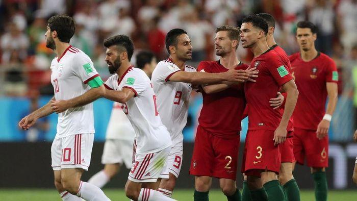 Hasil Pertandingan Piala Dunia 2018: Iran vs Portugal Skor 1-1. (Foto: Ivan Alvarado/Reuters)