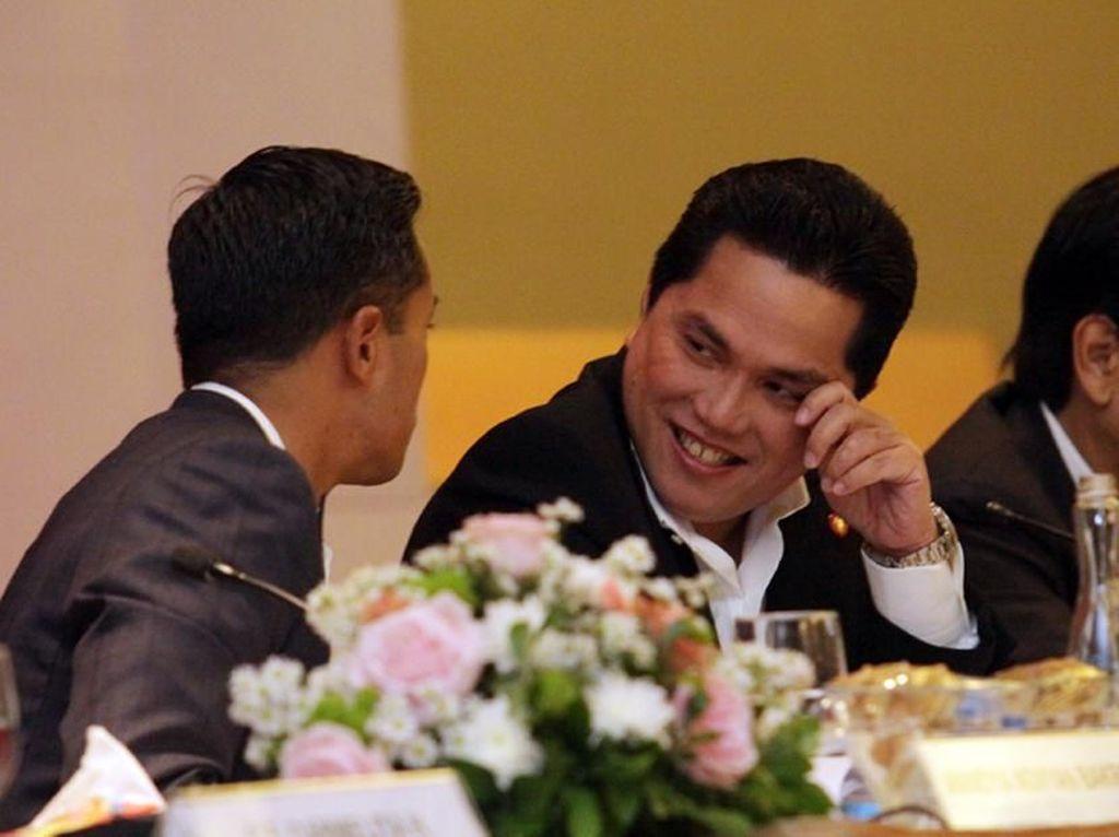 Saham Perusahaan Erick Tohir Melejit, Komisaris Ikut Ambil Untung