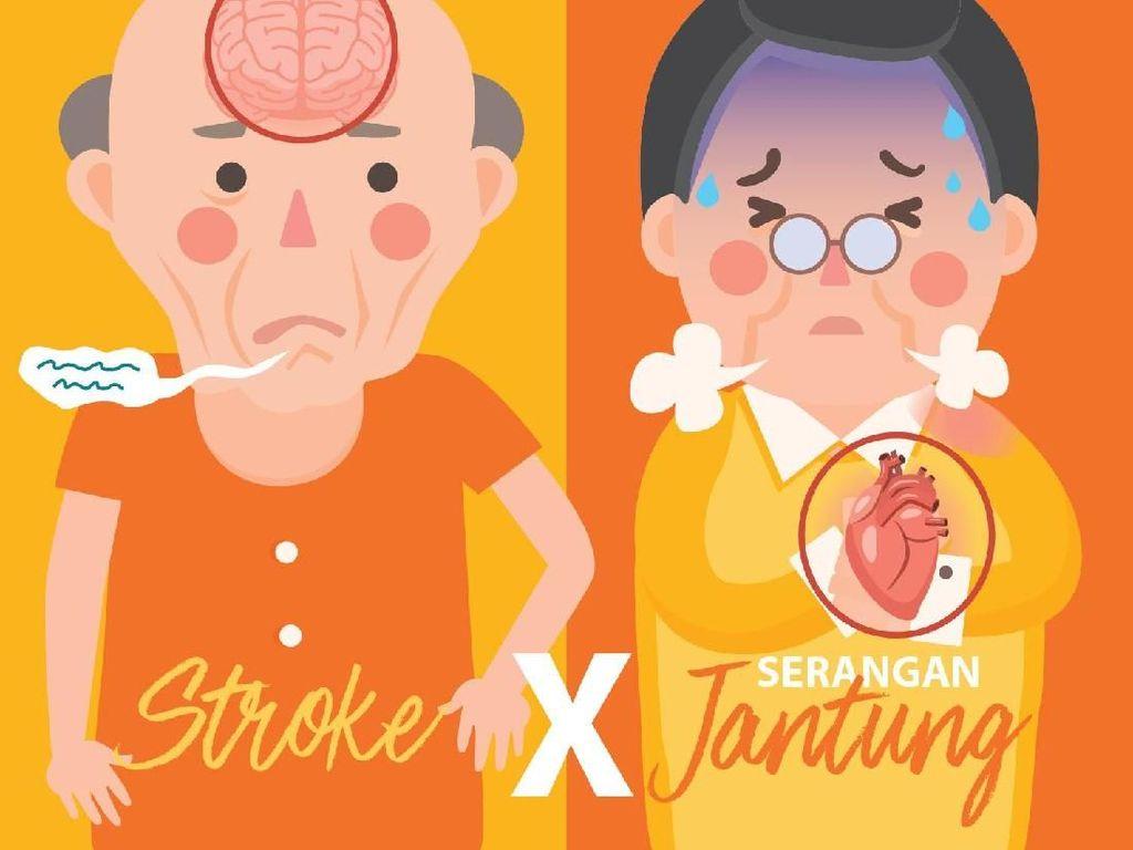 Stroke Vs Serangan Jantung, Bedanya Apa Sih?