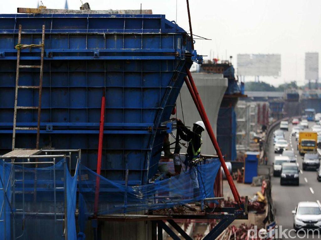 Usai Lebaran, Pembangunan Tol Layang Jakarta Cikampek Kembali Dikebut