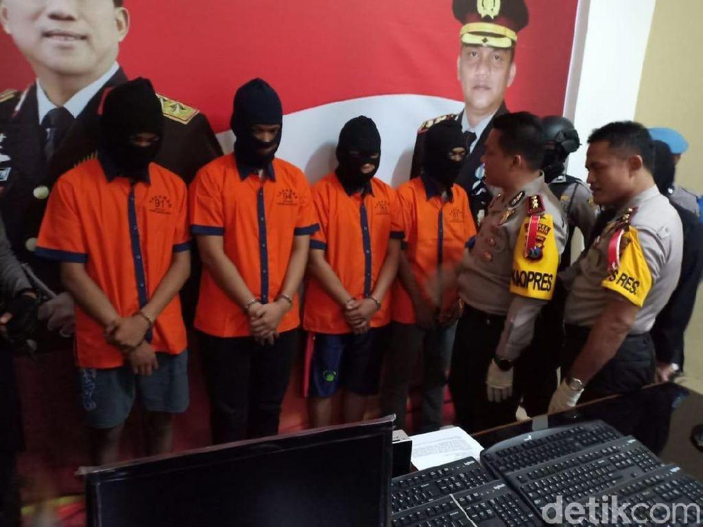 Pencuri Komputer Barang Bukti Kasus di Madiun Akhirnya Tertangkap
