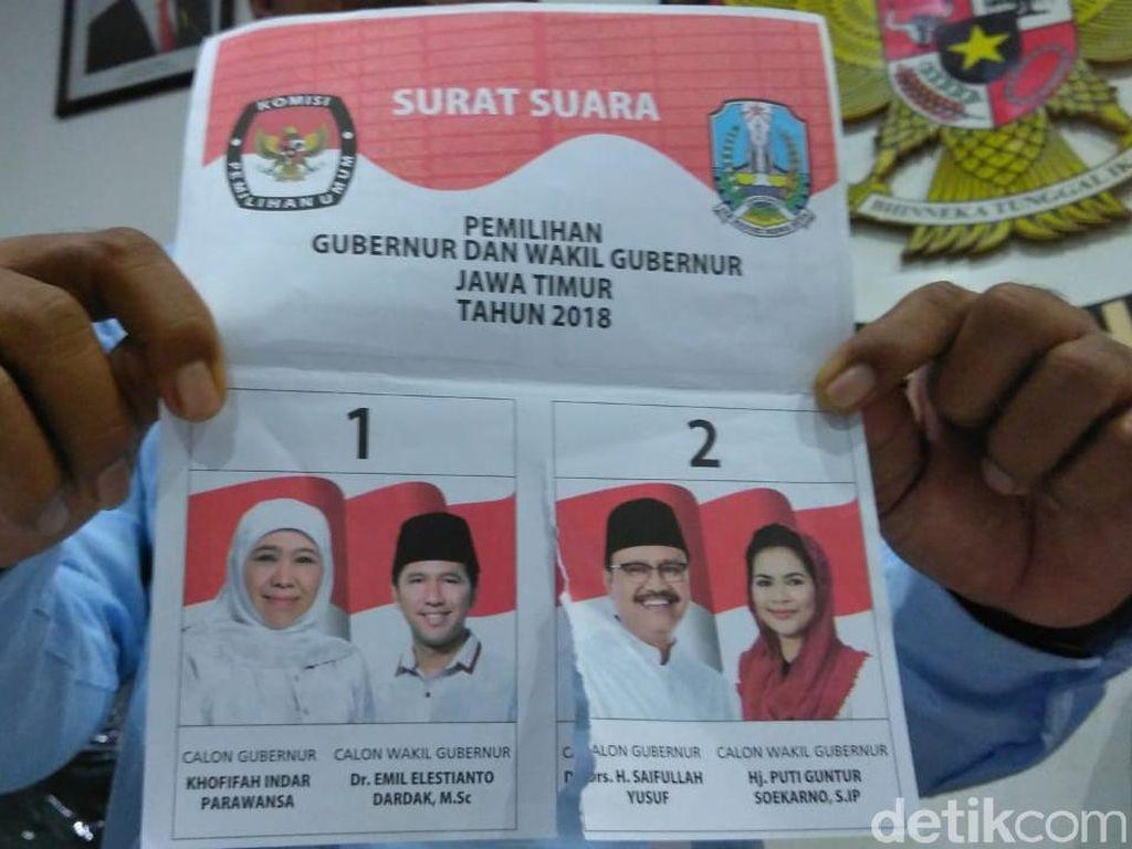 KPU Surabaya Gelar Pemungutan Suara Ulang di TPS Manukan, Besok