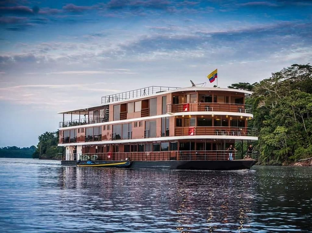 Foto: Cruise Mewah di Sungai Amazon