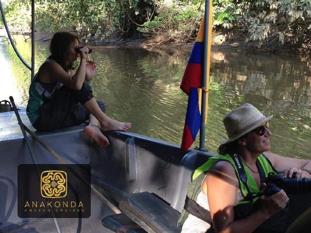 Foto: Cruise Mewah di Sungai Amazon