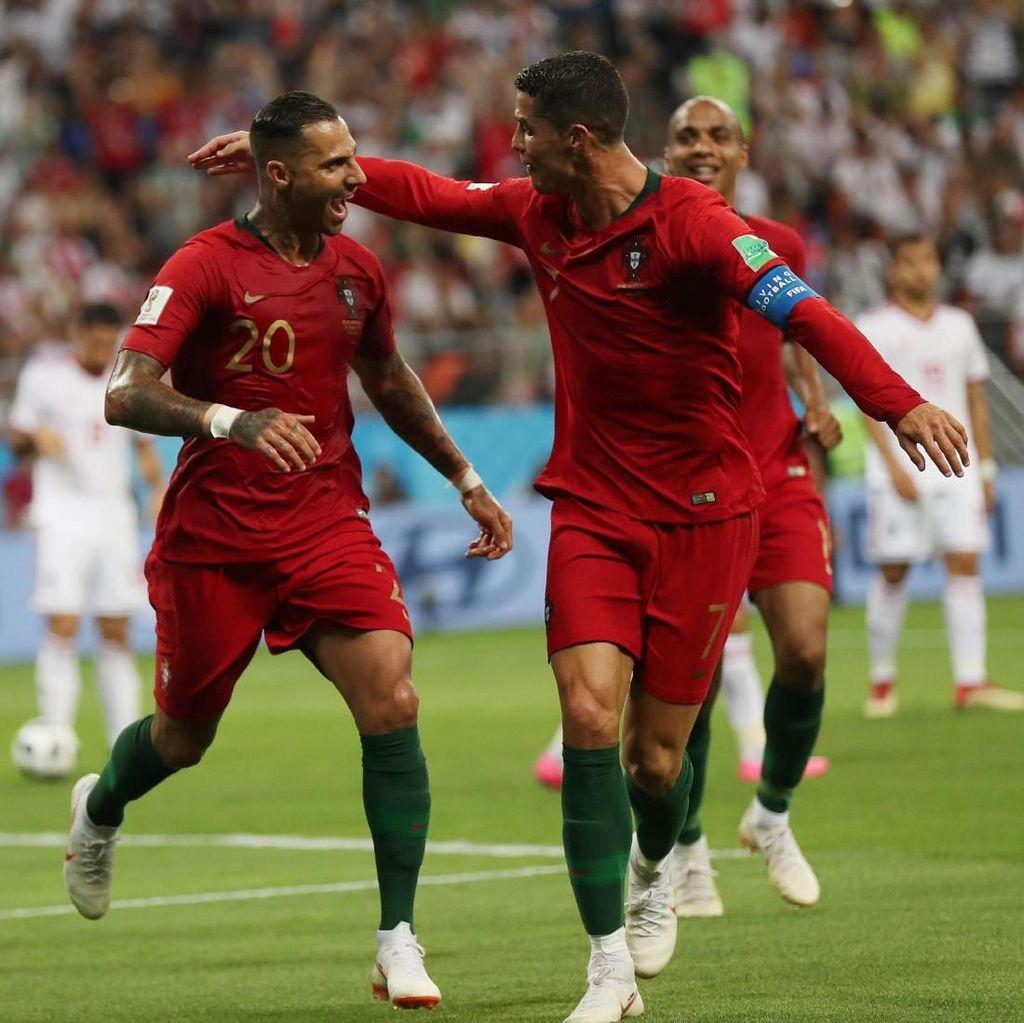 Portugal Ungguli Iran di Babak Pertama