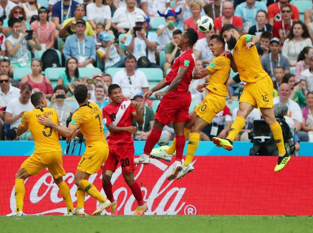 Video Highlights Babak I Australia Vs Peru