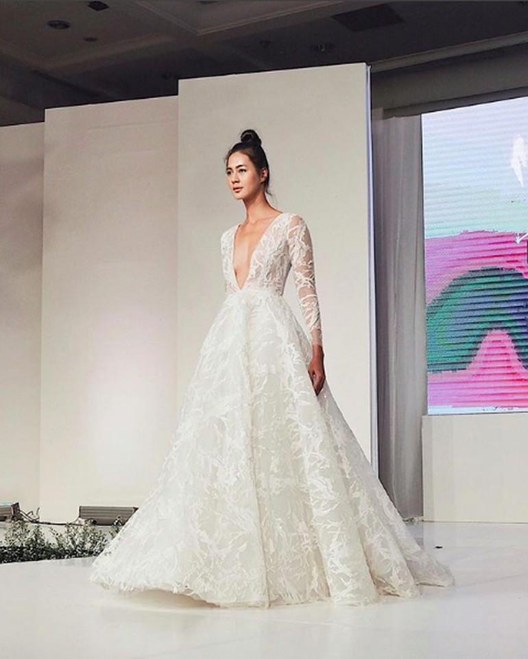 Akan Dinikahi Baim Wong Begini Cantiknya Paula Verhoeven Bergaun