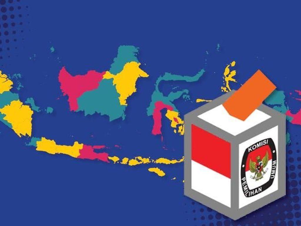 Pilkada Rasa Pilpres, 5 Provinsi Jadi Penentu