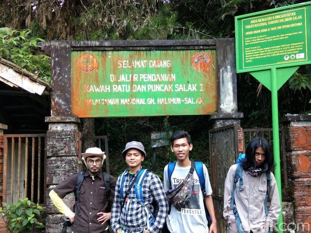 Habis Nyoblos, Langsung Naik ke Gunung Salak