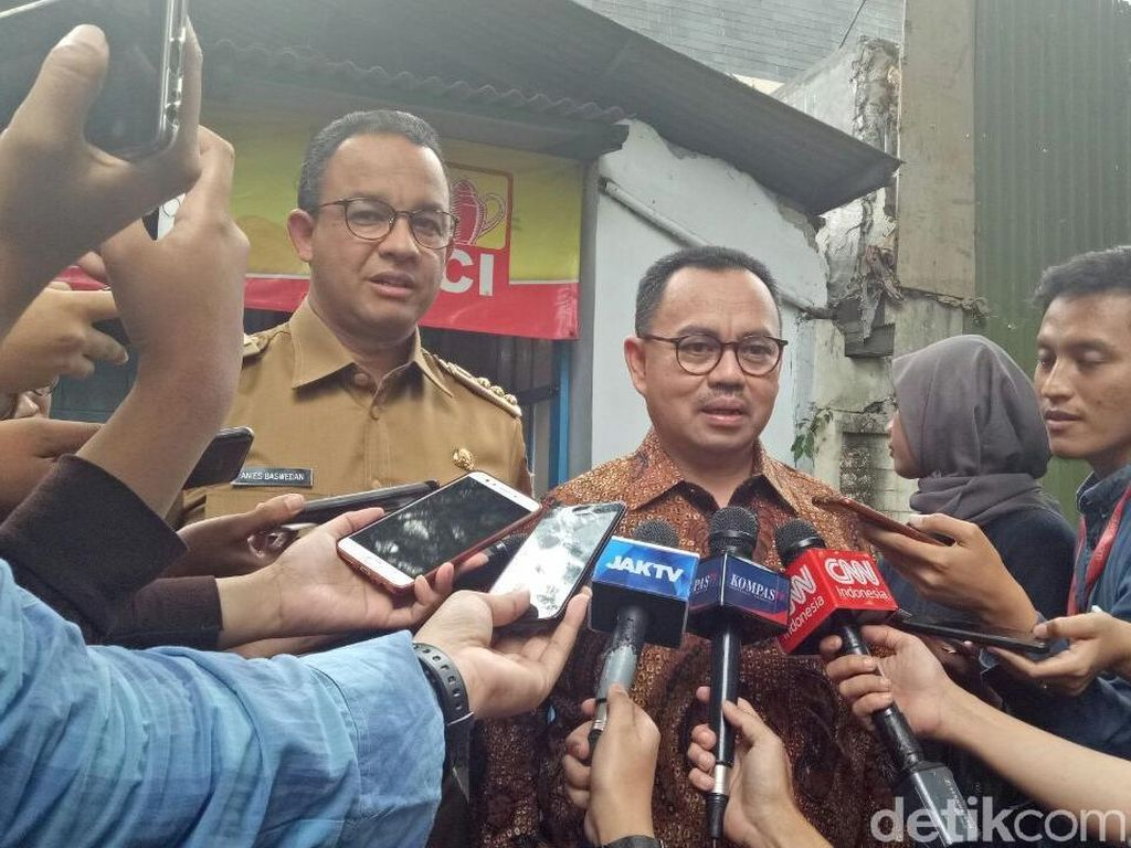 Anies Angkat Sudirman Said Jadi Komut Food Station Tjipinang