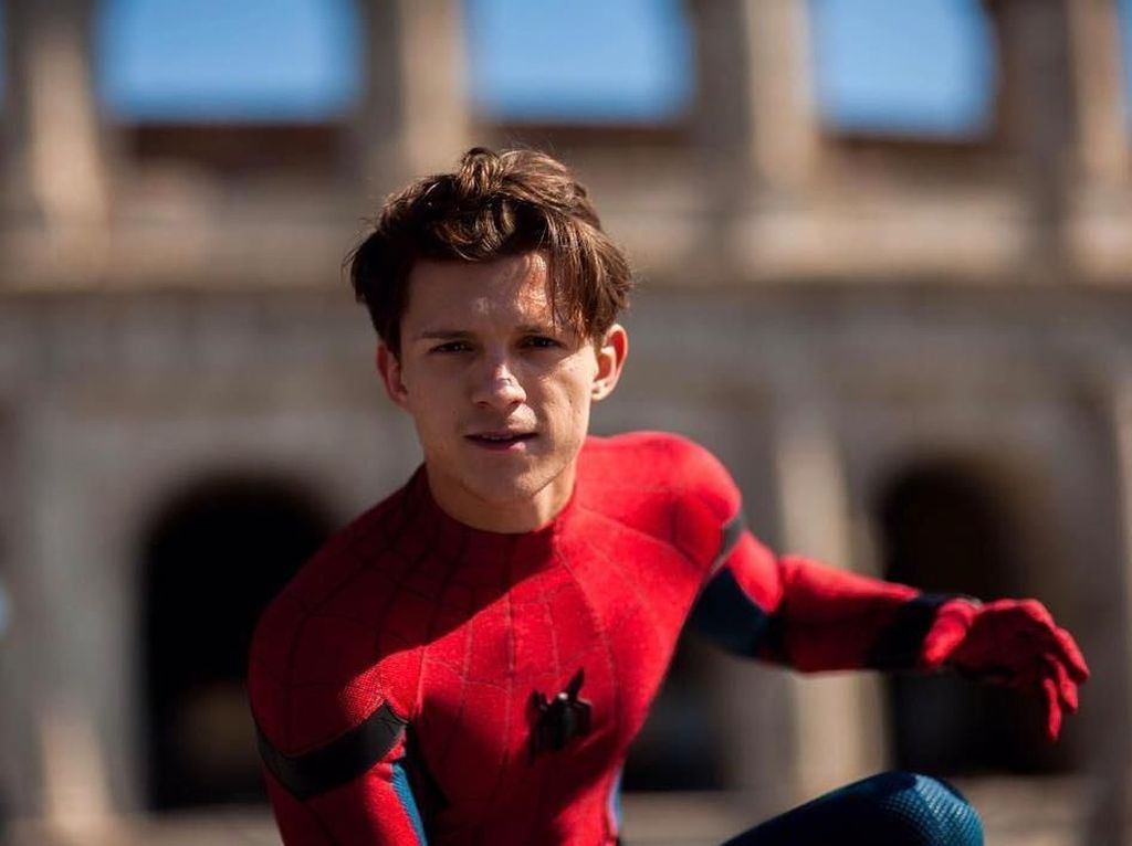 Ricuh Sony vs Disney soal Spider-Man, Tom Holland: We Did It Mr Stark