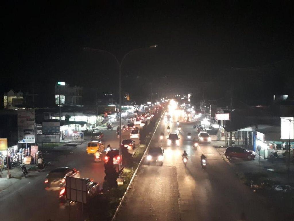 Pemkab Kampar Juga Nunggak Listrik Rp 14 Miliar, Jalan Gelap Gulita