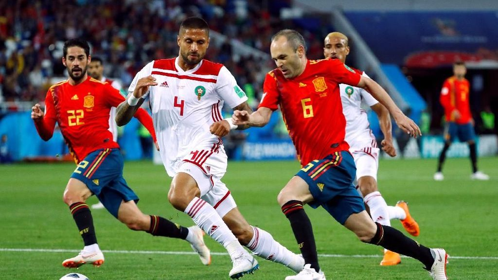 Video Highlights Babak I Spanyol Vs Maroko