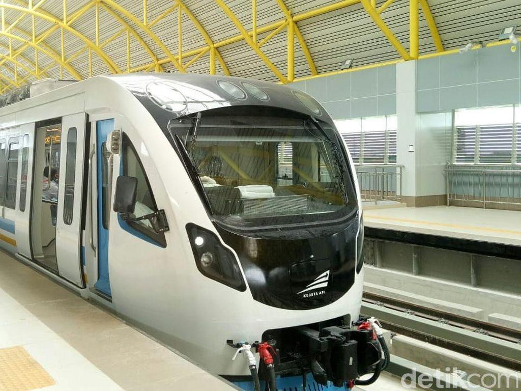 Mau Diresmikan Jokowi, LRT Palembang Sudah Rampung 95%