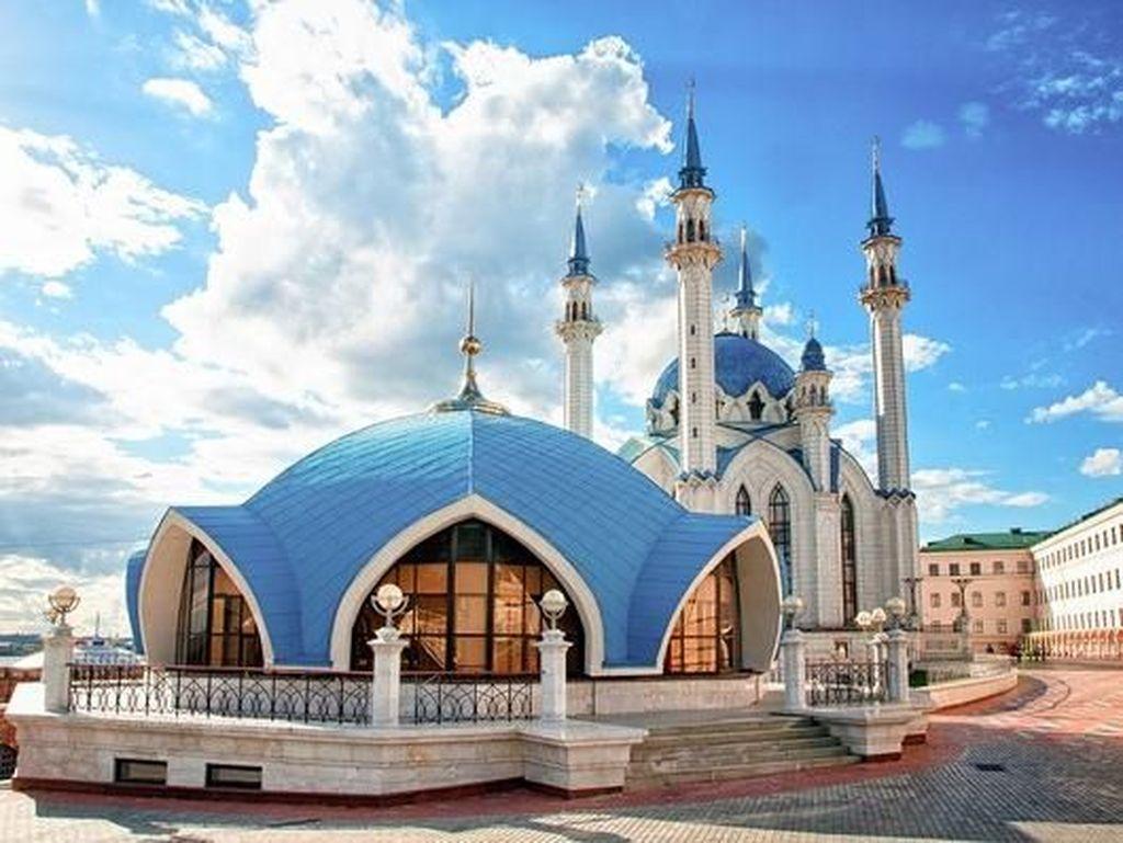 Masjid Cantik di Kota Penyelenggara Piala Dunia 2018