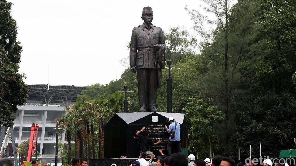 Patung Soekarno Hiasi Kawasan SUGBK