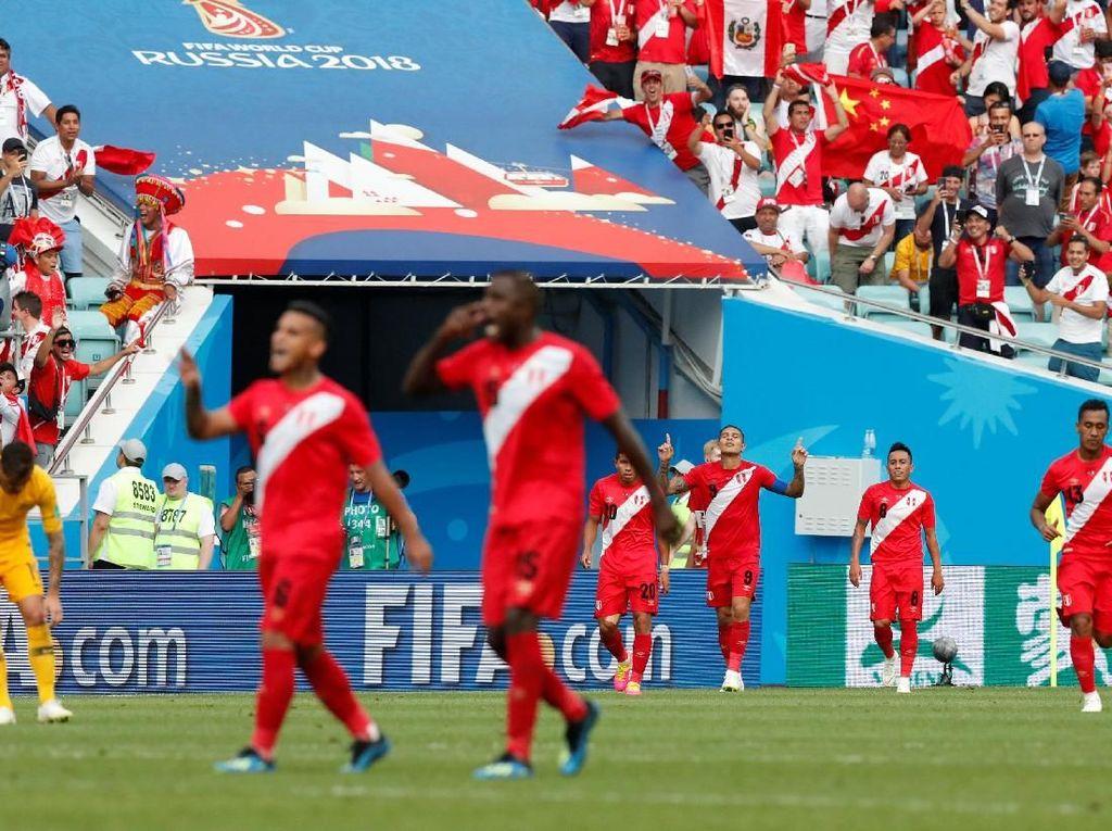 Dikalahkan Peru, Australia Tersingkir dan Jadi Juru Kunci