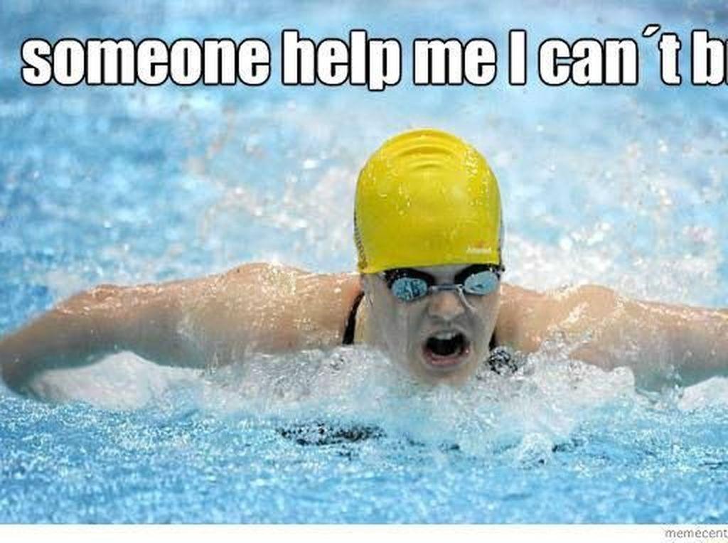 Kena di Hati! Meme Sindiran Buat Kamu yang Enggak Bisa Berenang