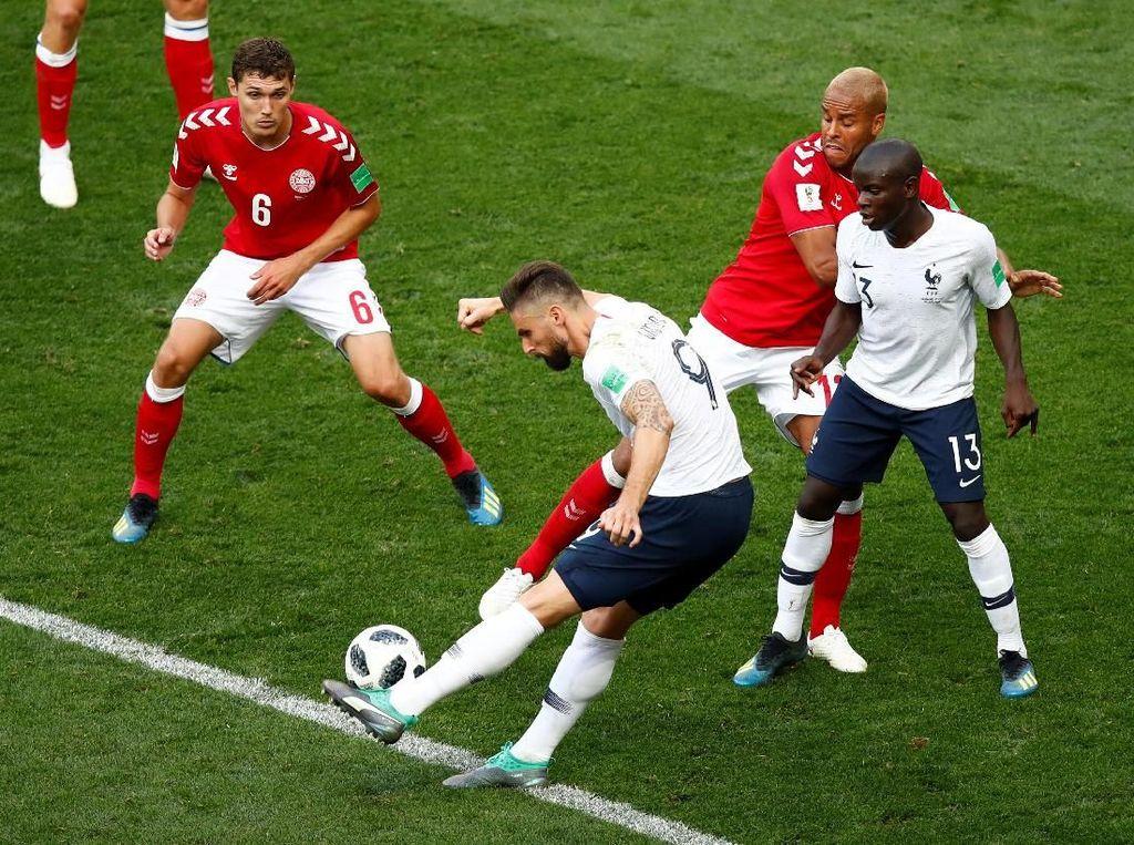Denmark Dampingi Prancis ke Babak 16 Besar Piala Dunia 2018